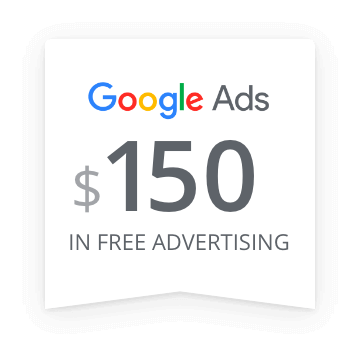 $150 in Free Advertising with Google Ads